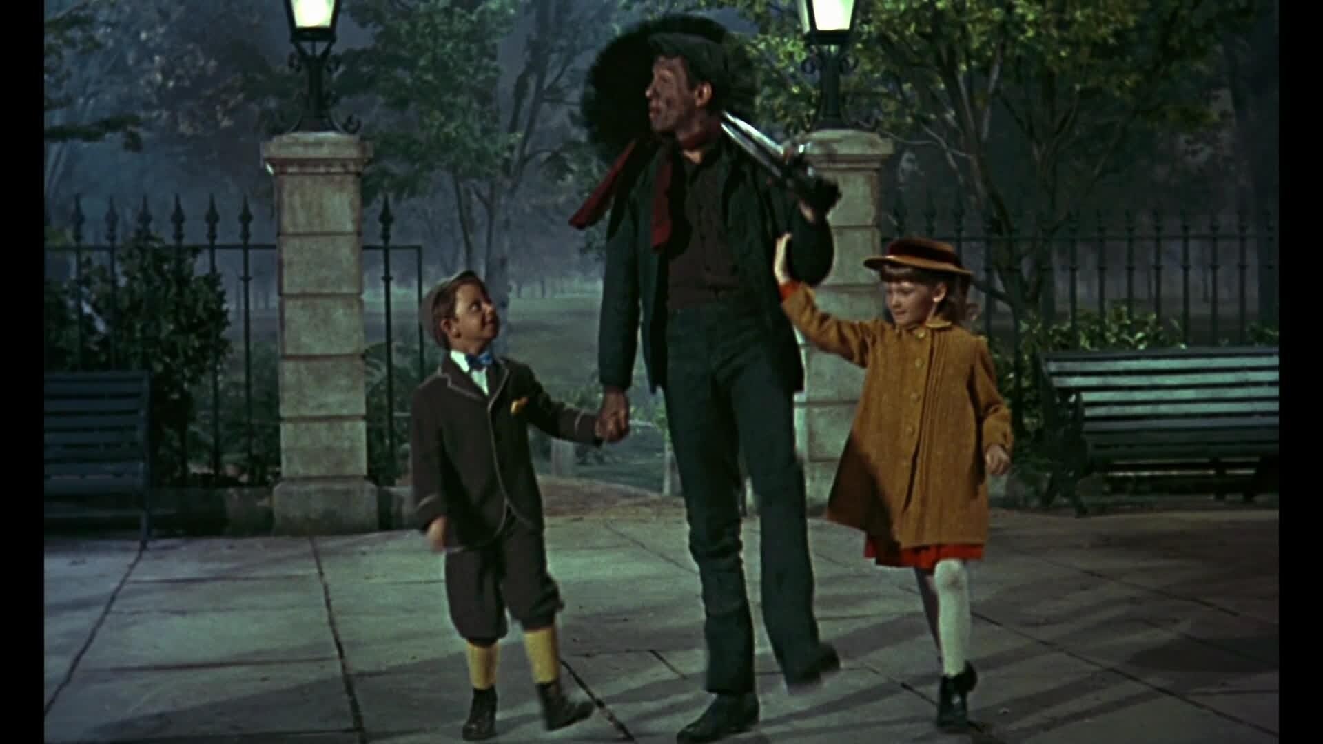 Mary Poppins - Chanson : Chem-cheminée (par Bert et les enfants)