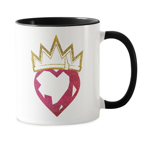 Descendants 2 Heart and Crown Coffee Mug - Customziable
