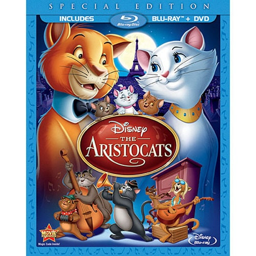 The Aristocats - 2-Disc Combo Pack - Blu-ray Packaging