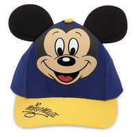 Image of Mickey Mouse Baseball Cap for Kids - Blue/Gold # 1