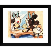 Image of Minnie Mouse ''Lipstick'' Giclée # 2