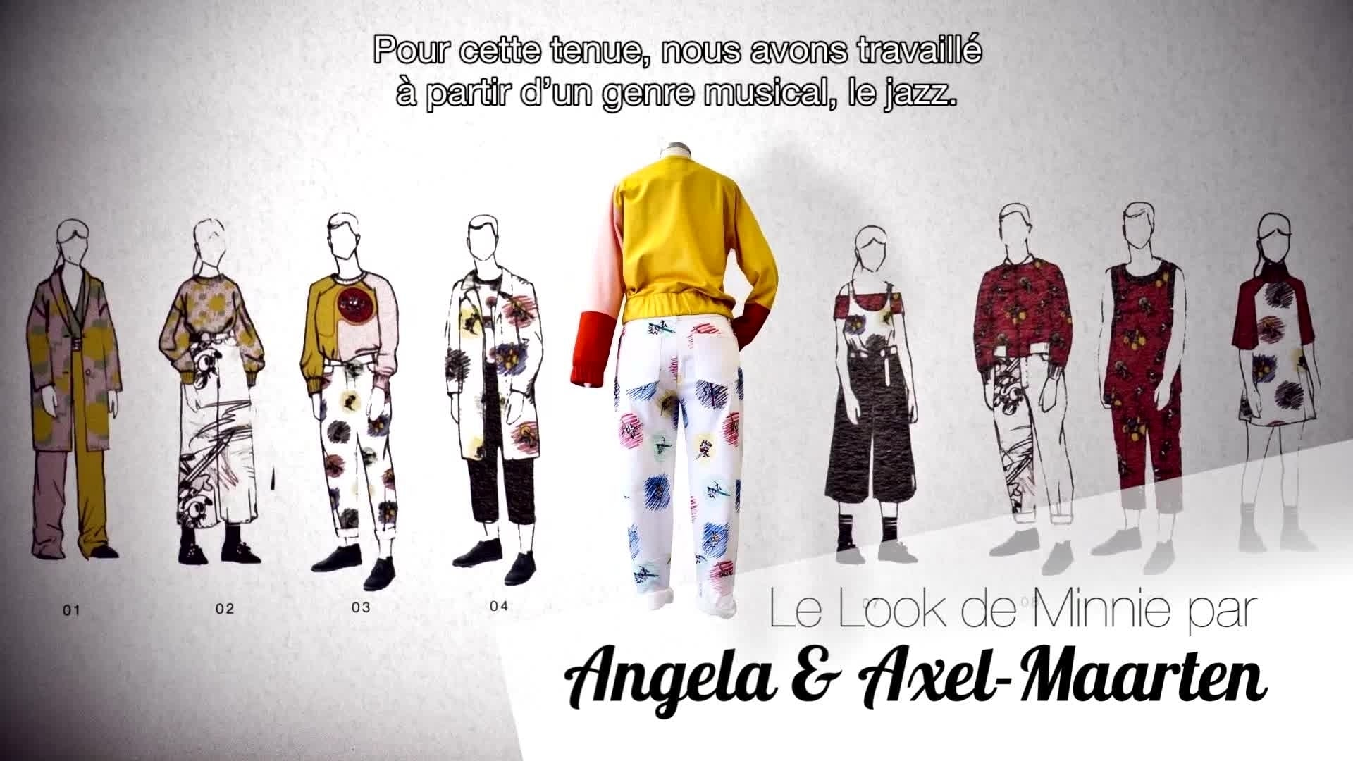 Le Look mode de Minnie n°1