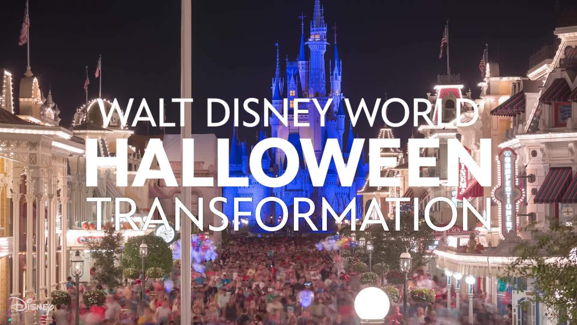 Walt Disney World Halloween Transformation