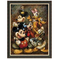 Image of ''Mickey Mouse and Friends'' Giclée by Darren Wilson # 7