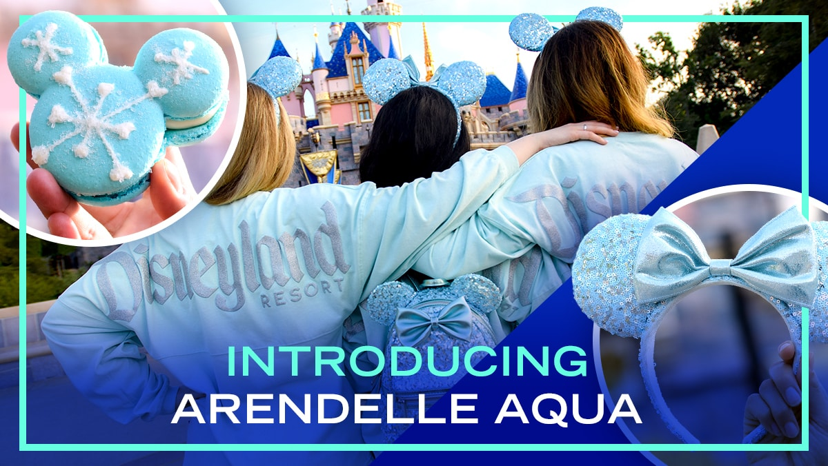 Arendelle Aqua is Now at Disney Parks | News by Disney Style