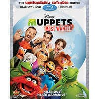 Image of Muppets Most Wanted Blu-ray Combo Pack # 1