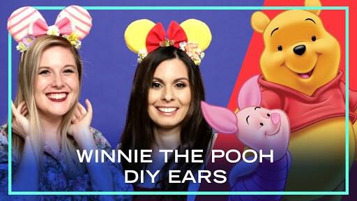 2 DIY Winnie the Pooh Ears | DIY by Disney Style