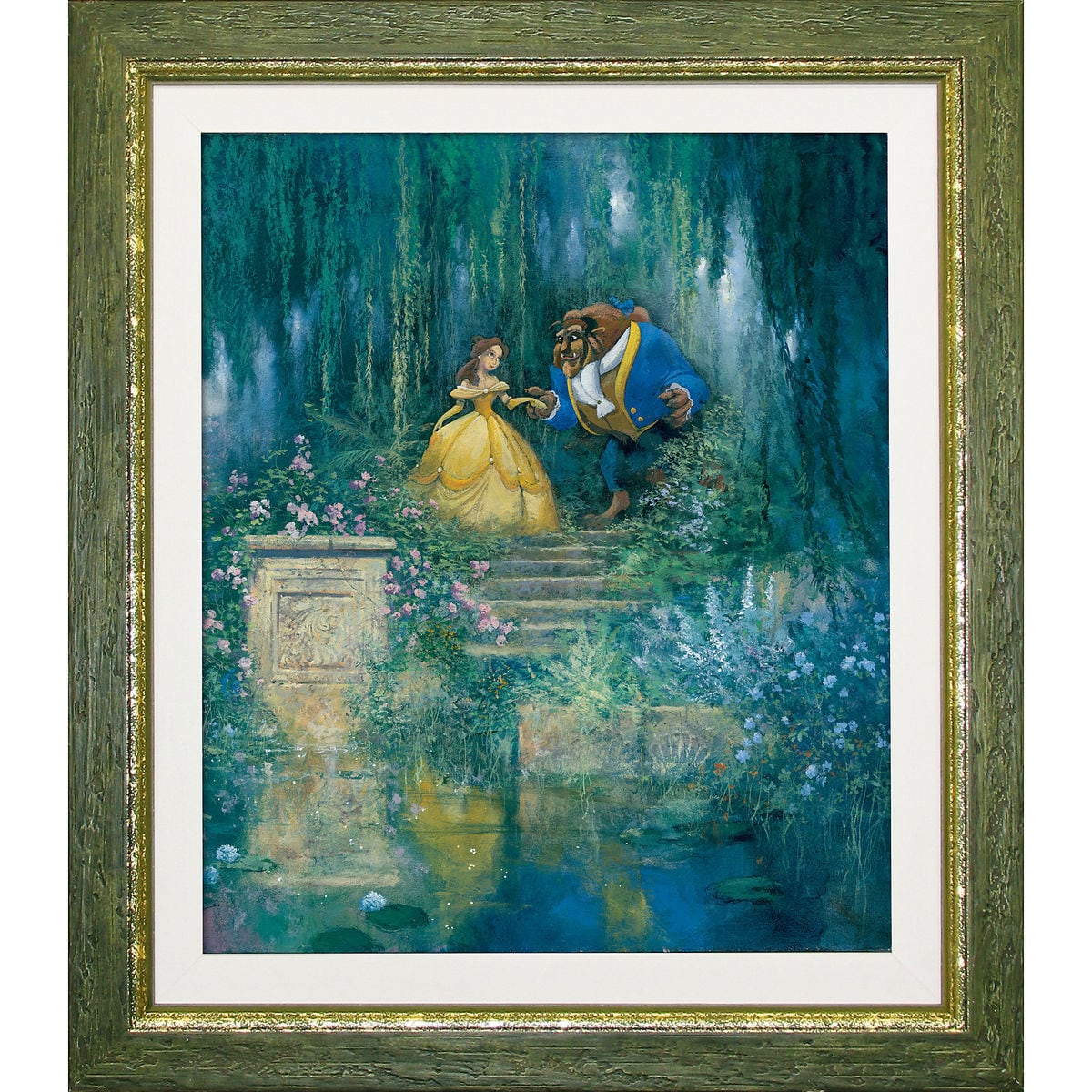 Beauty and the Beast \'\'For the Love of Beauty\'\' Giclée | shopDisney