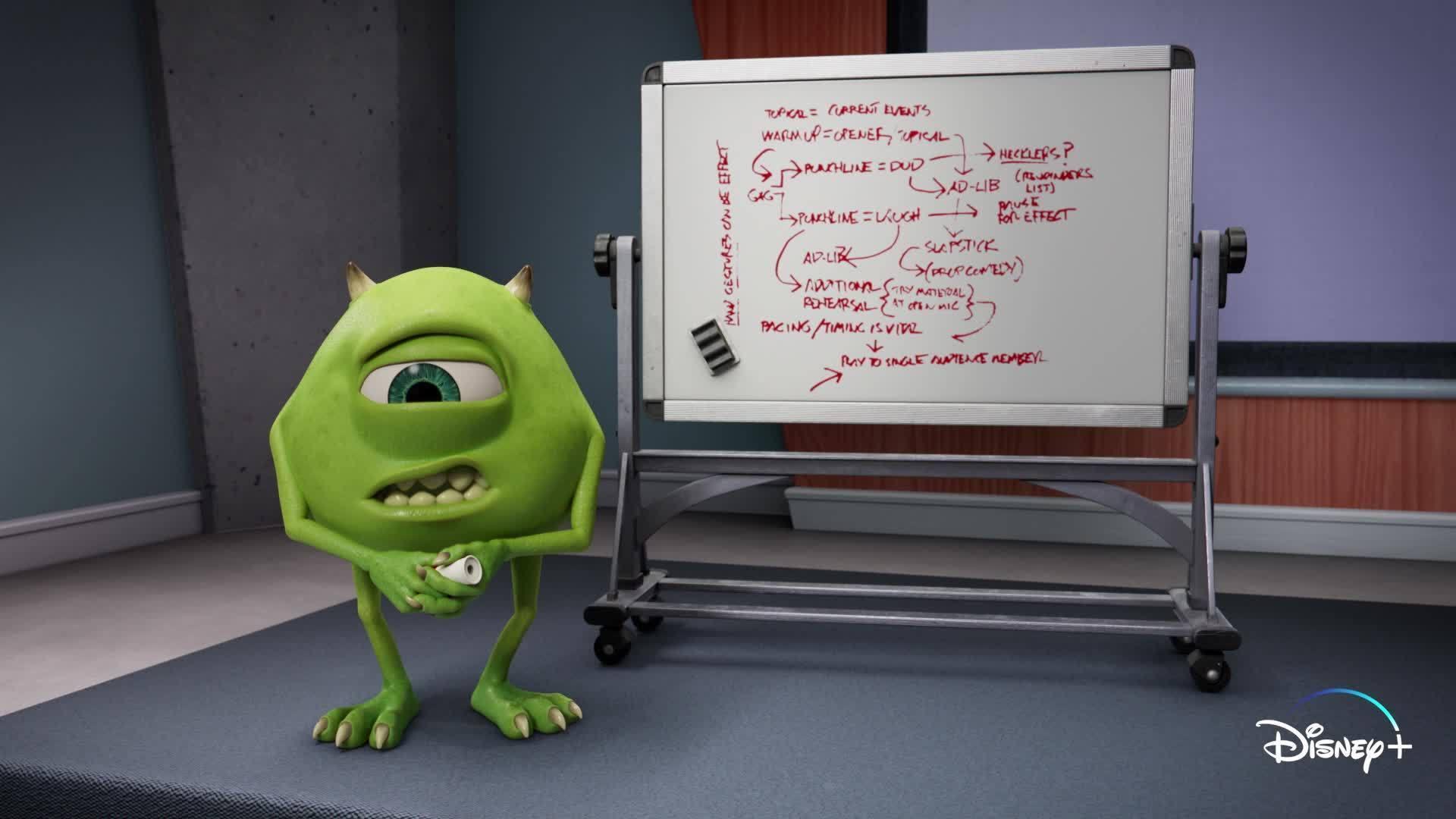 Hecklers | Monsters at Work | Disney+