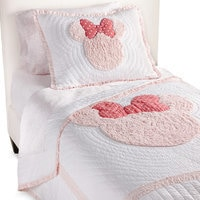 Image of Minnie Mouse Really Ruffle Quilt by Ethan Allen # 1