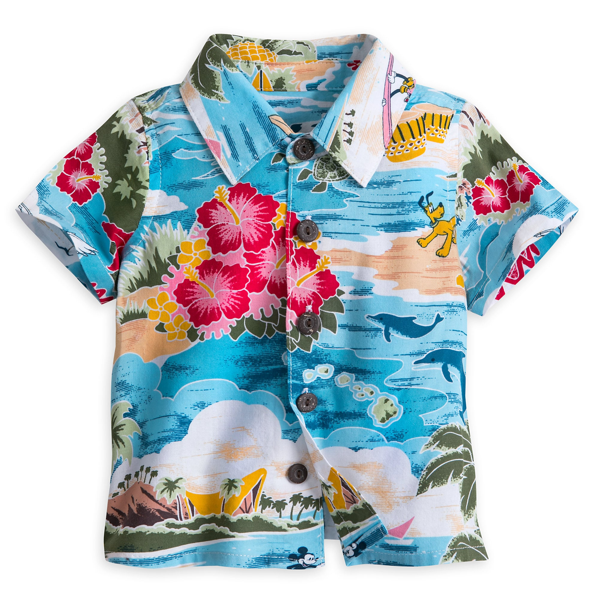 b305abe5 Mickey Mouse and Friends Hawaiian Shirt for Baby   shopDisney