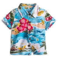 Image of Mickey Mouse and Friends Hawaiian Shirt for Baby # 1