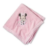 Minnie Mouse Plush Blanket for Baby