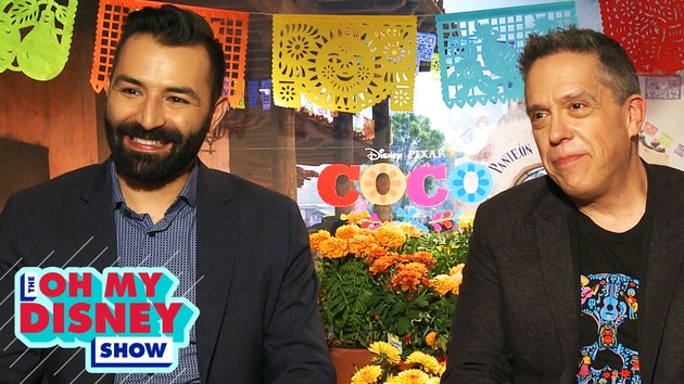 Everything We Learned From the Directors of Disney•Pixar's Coco | Oh My Disney Show