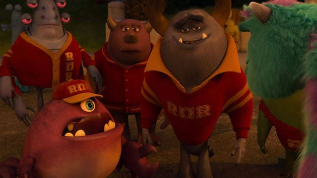 ROR Material - Monsters University Blu-ray Clip