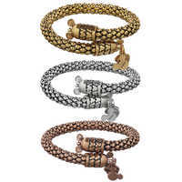 Image of Mickey Mouse Metal Wrap Bracelet by Alex and Ani # 1