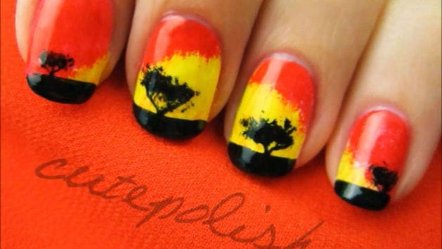 Lion King Design Tutorial -- A CutePolish Disney Exclusive