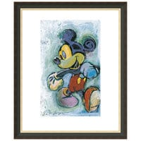 Mickey Mouse ''Skipping Out'' Giclée by Eric Robison