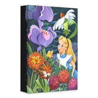 Image of ''A Conversation with Flowers'' Giclée on Canvas by Michelle St.Laurent # 1