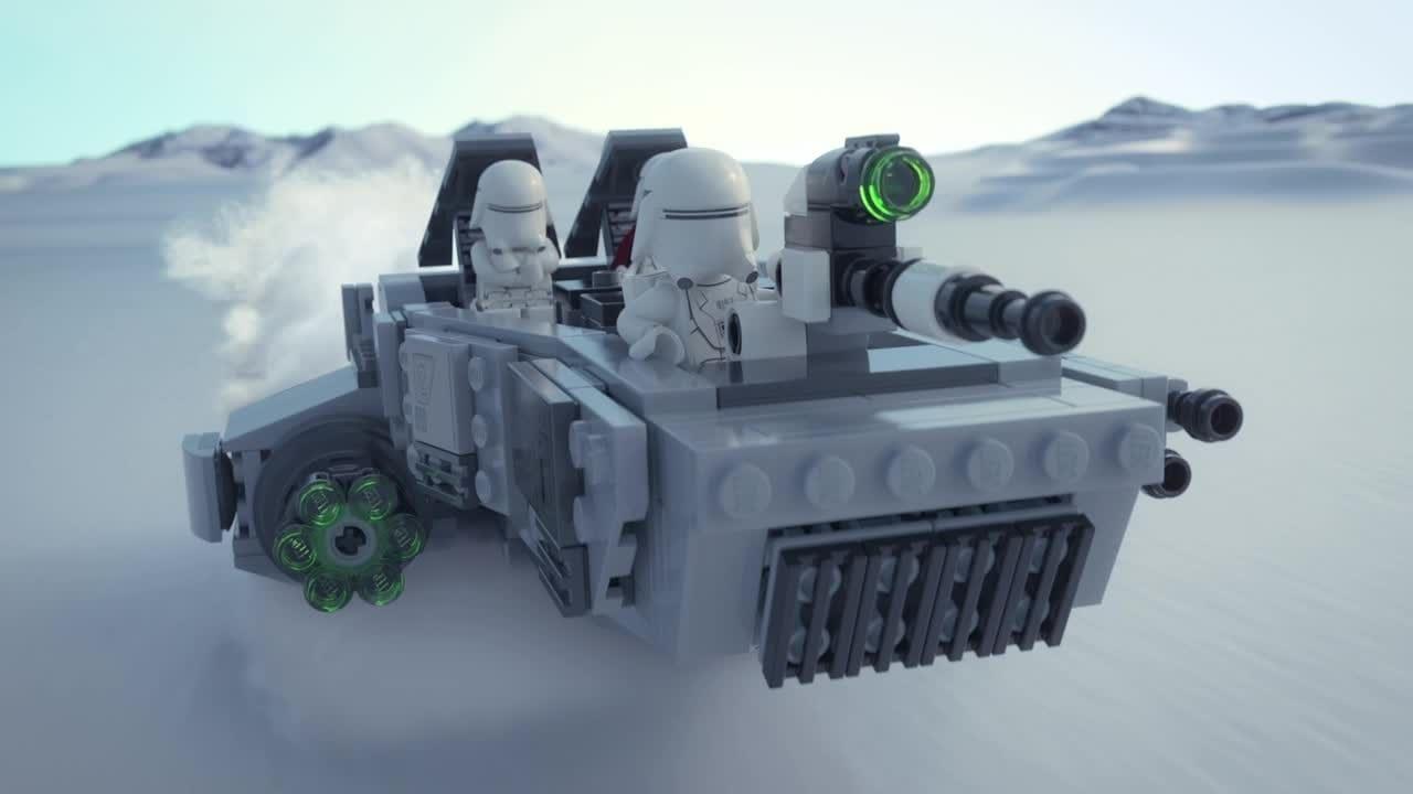 Poe Dameron™ vs. First Order Snowspeeder™