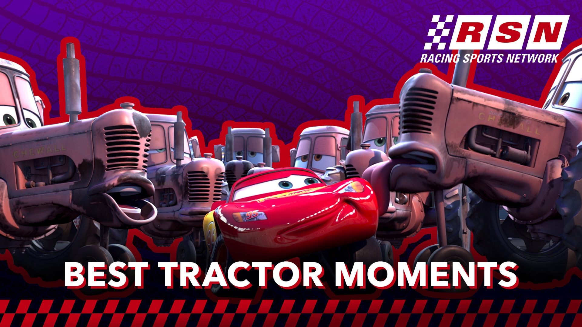 Best Tractor Moments in Cars | Racing Sports Network by Disney•Pixar Cars