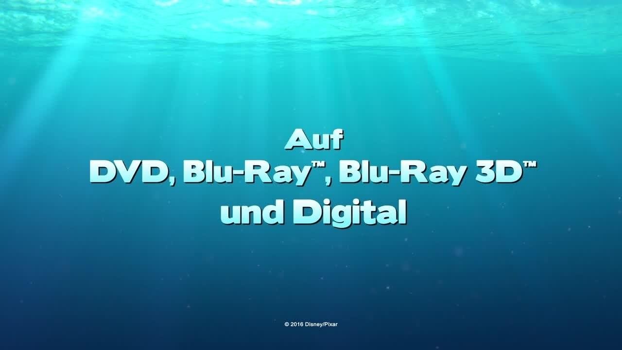 Findet Dorie - JETZT AUF DVD und BLU-RAY