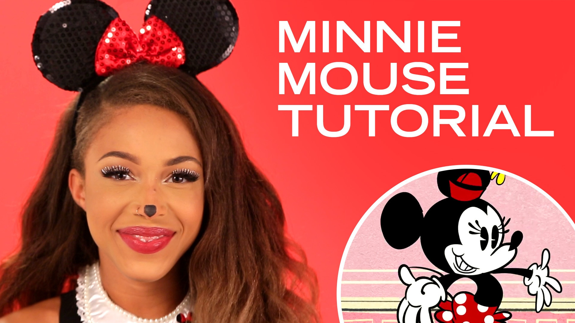 How To Get Minnie Mouse's Look