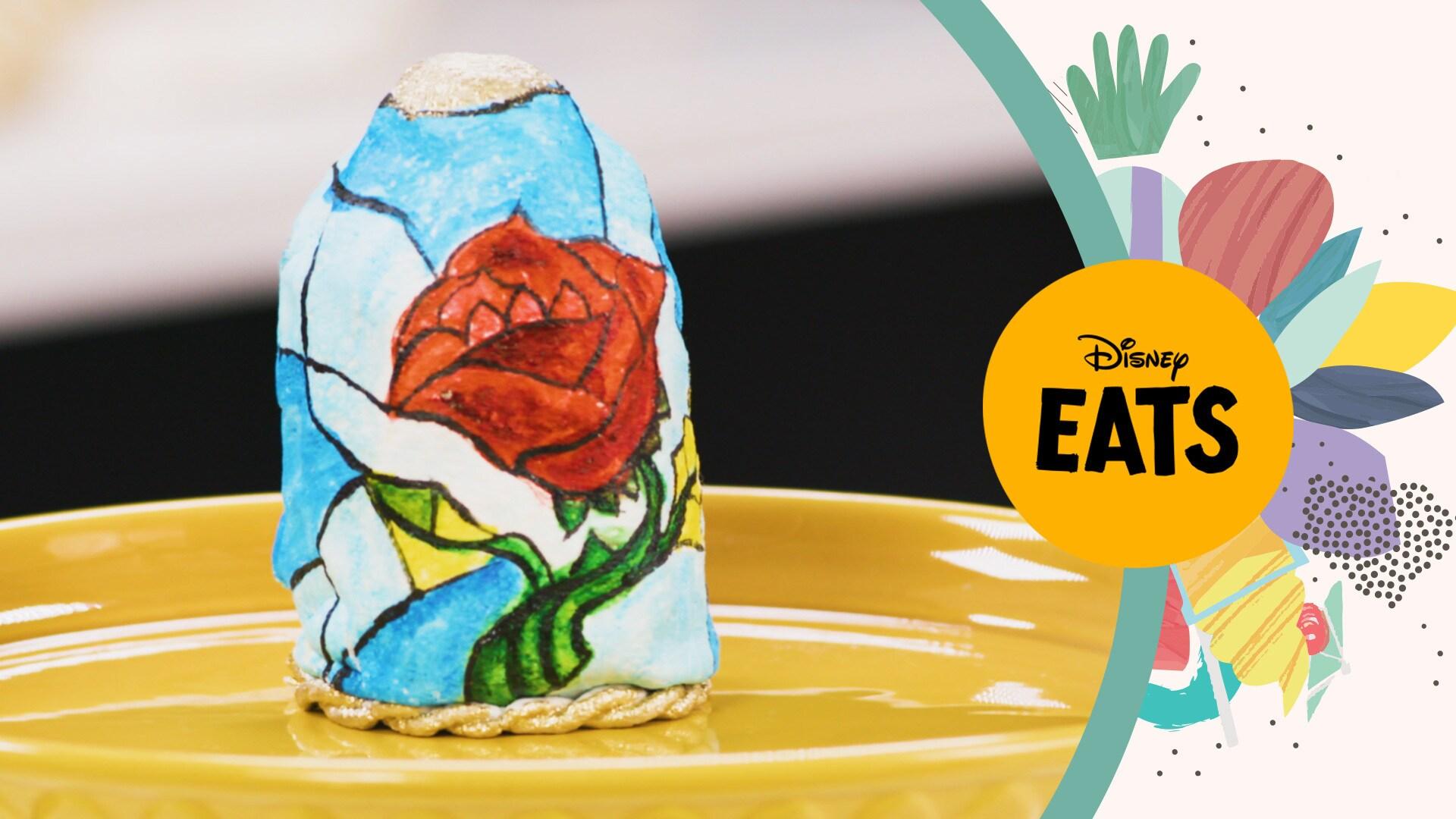 Beauty and the Beast Rose Cake | Disney Eats