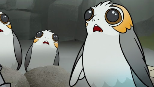 Star Wars Forces of Destiny | Porg Problems | Disney