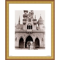 Image of Walt Disney at Sleeping Beauty Castle Giclé # 3