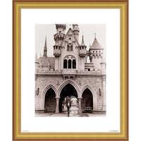 Image of Walt Disney at Sleeping Beauty Castle Giclé # 3
