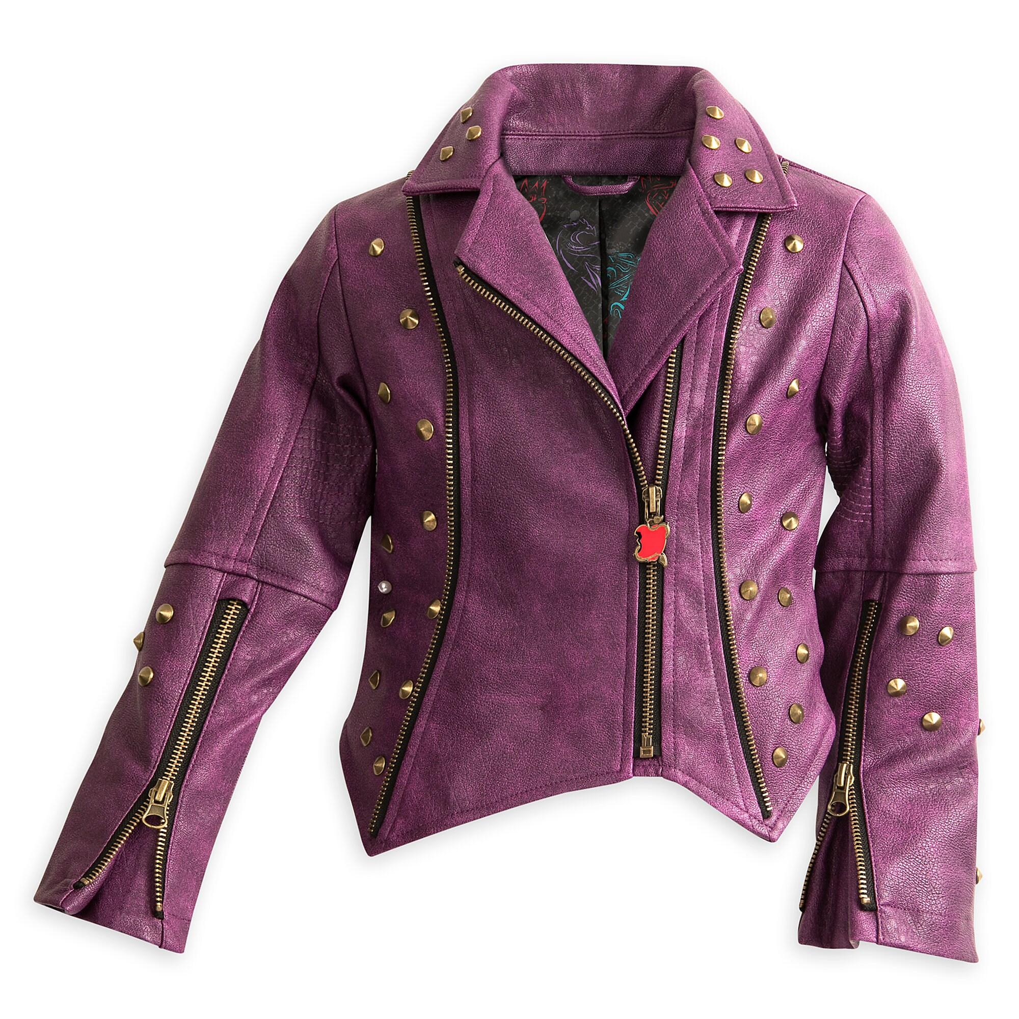 Descendants 2 Faux Leather Moto Jacket for Girls