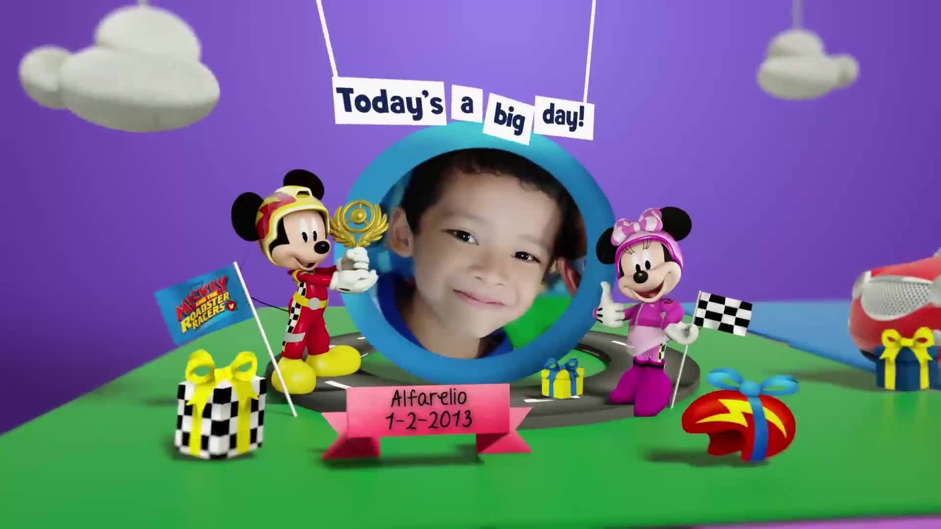 Disney Junior Birthday Book 2020 February Album 2