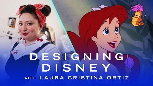 Fashion Designer Creates a Sustainable Little Mermaid Dress | Designing Disney by Disney Style