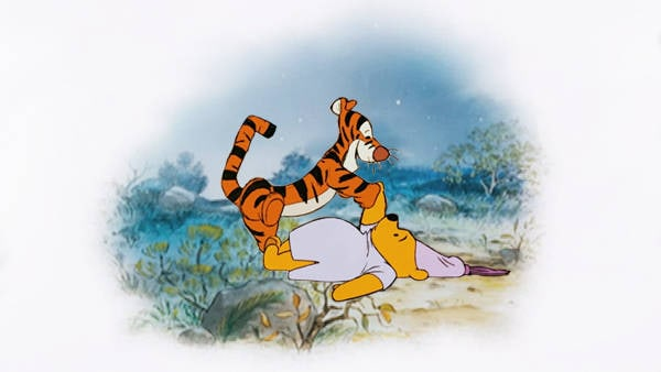 Winnie The Pooh - Pooh and Tigger