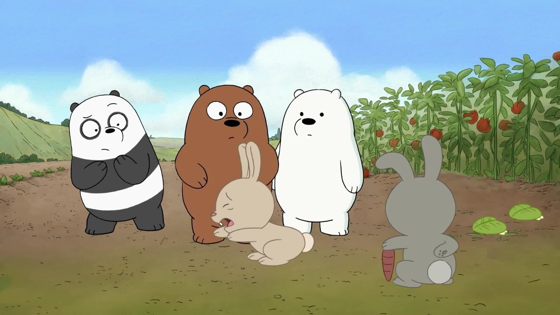 We Bare Bears - Bären wie wir - Wir und das Schokoladenfest / Panda und Panda 2