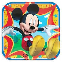 Mickey Mouse Lunch Plates