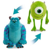 Sulley and Mike Wazowski Reversible Plush - Large - 23''