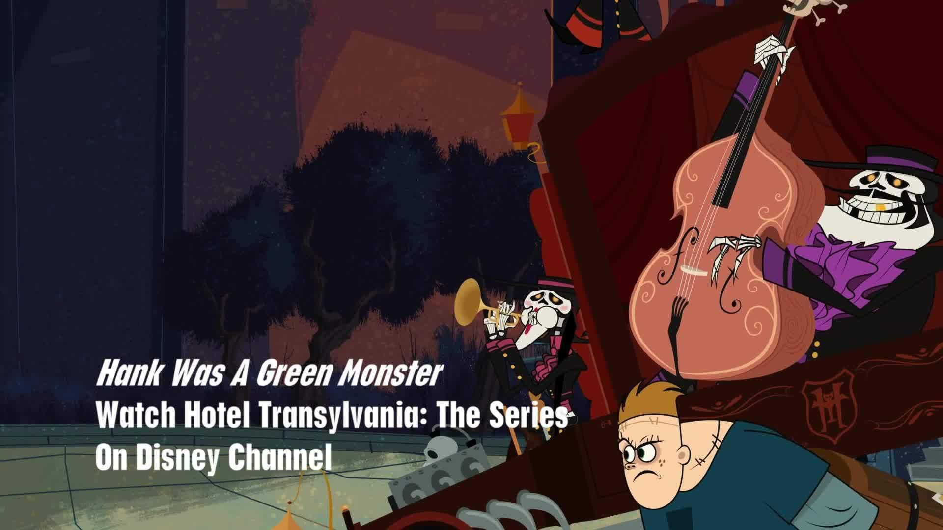 Hank Was A Green Monster