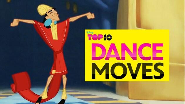 Disney Top 10 Dance Moves
