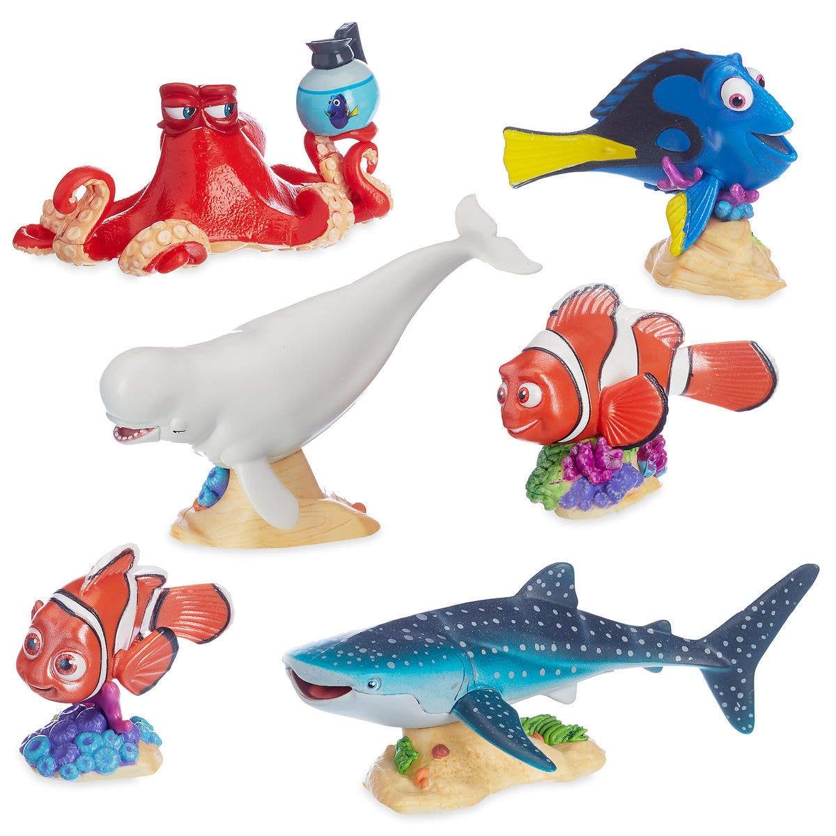 finding dory deluxe figure play set shopdisney