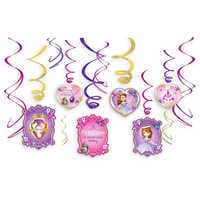 Image of Sofia the First Swirl Decorations Set # 1