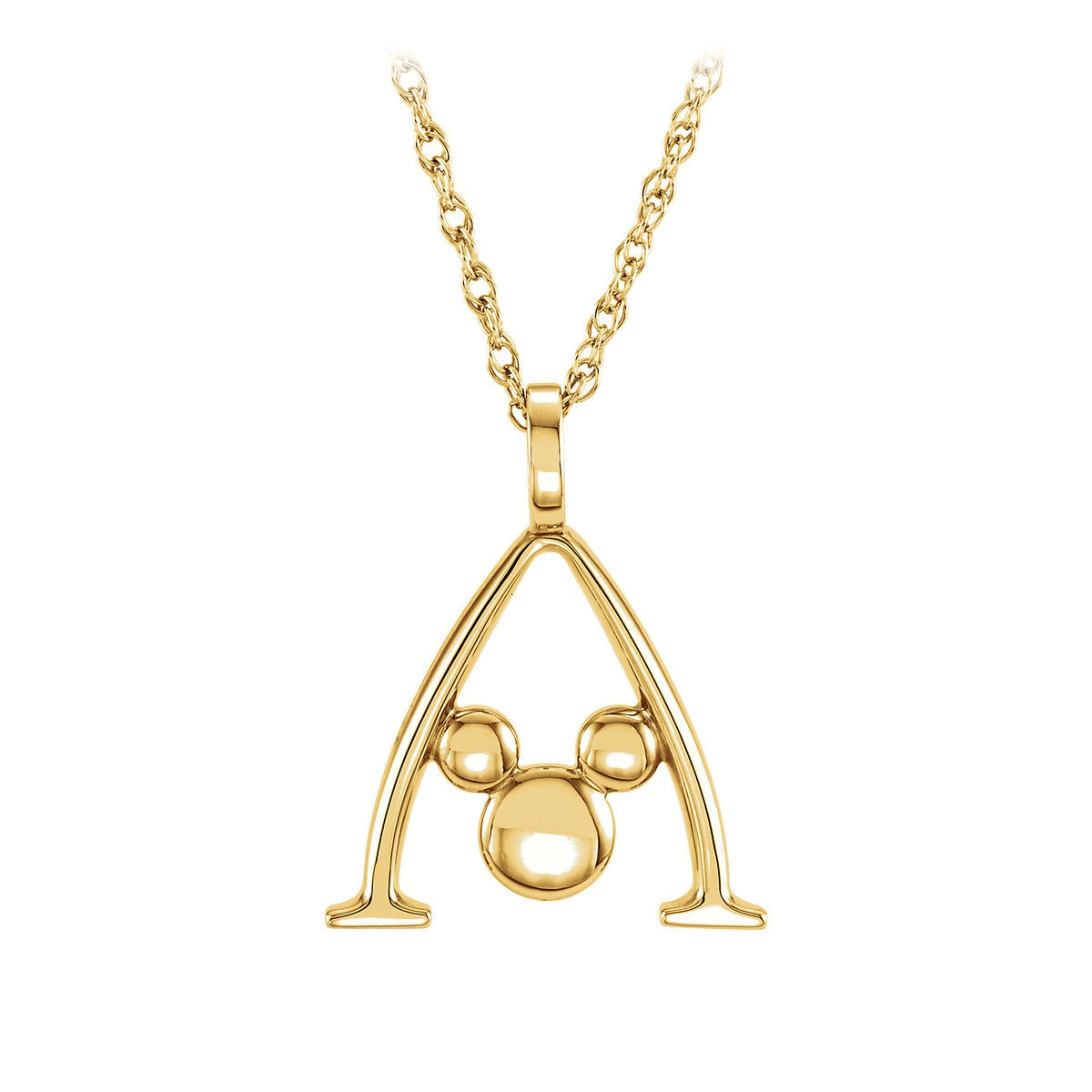 necklaces necklace rose solitaire drop triple product alexi gold heart