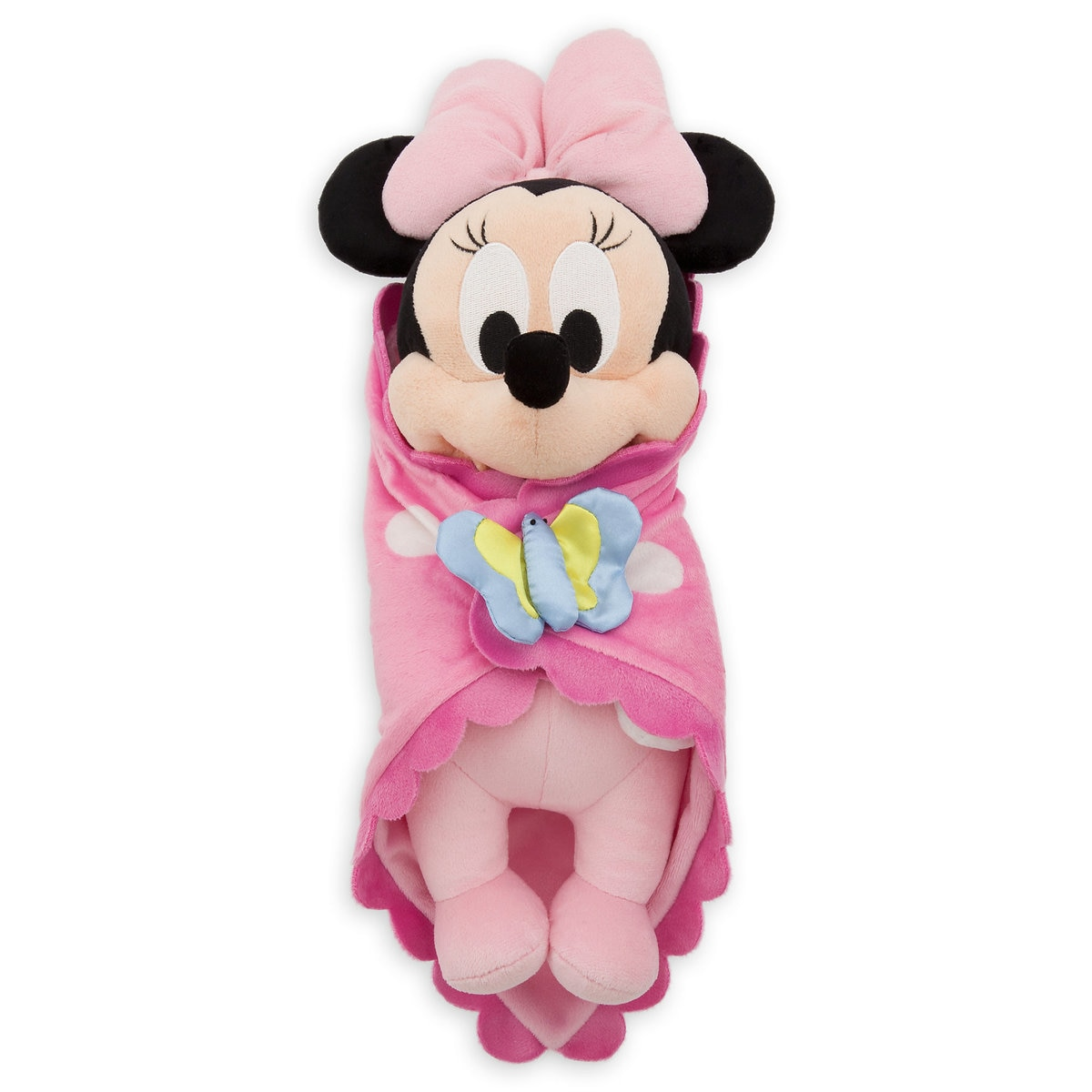 Disneys Babies Minnie Mouse Plush Doll and Blanket  Small  10