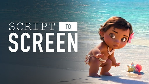 Baby Moana Meets the Ocean | Script to Screen by Disney