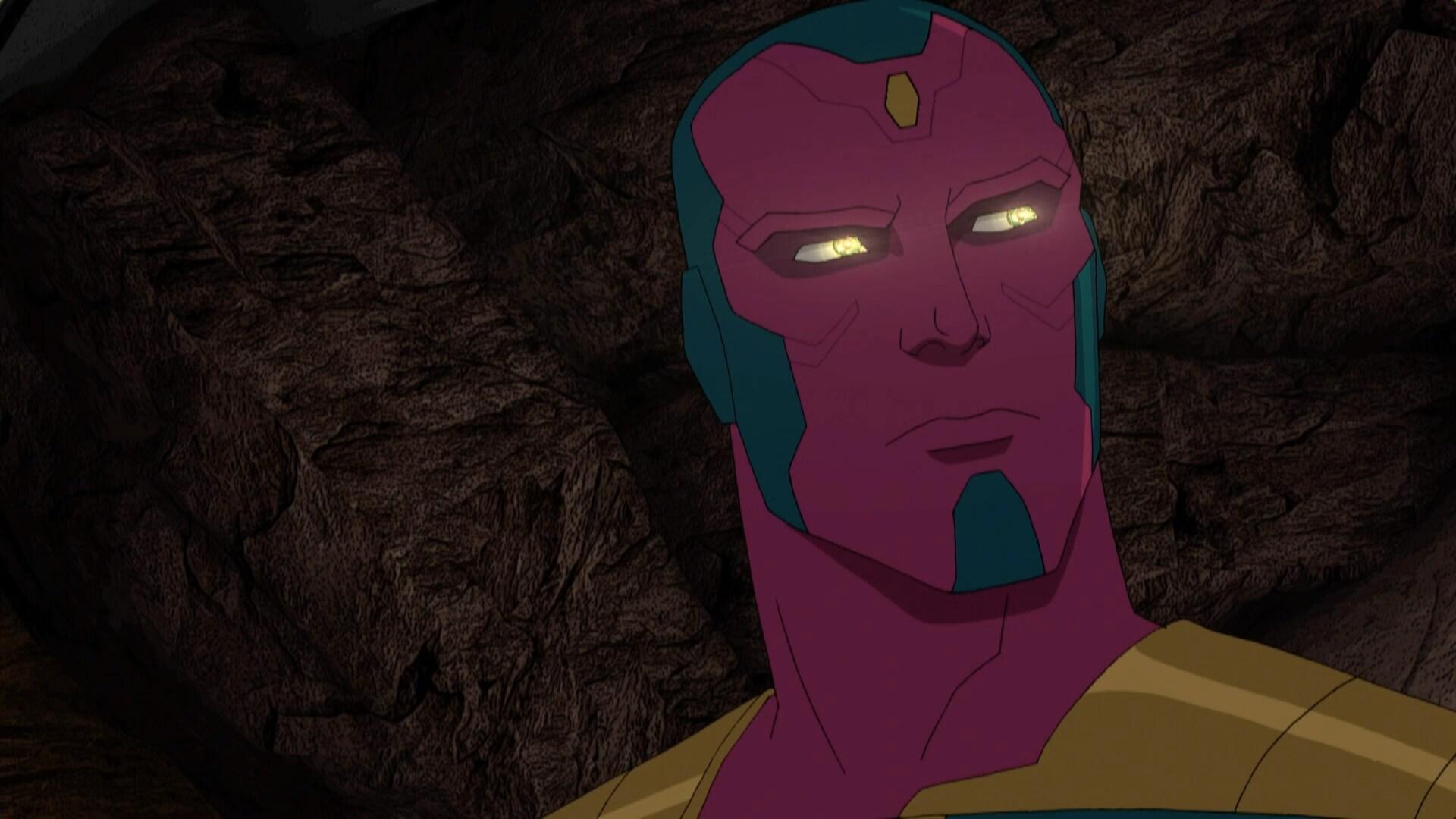 Visão - Os Vingadores da Marvel - Guerras Secretas
