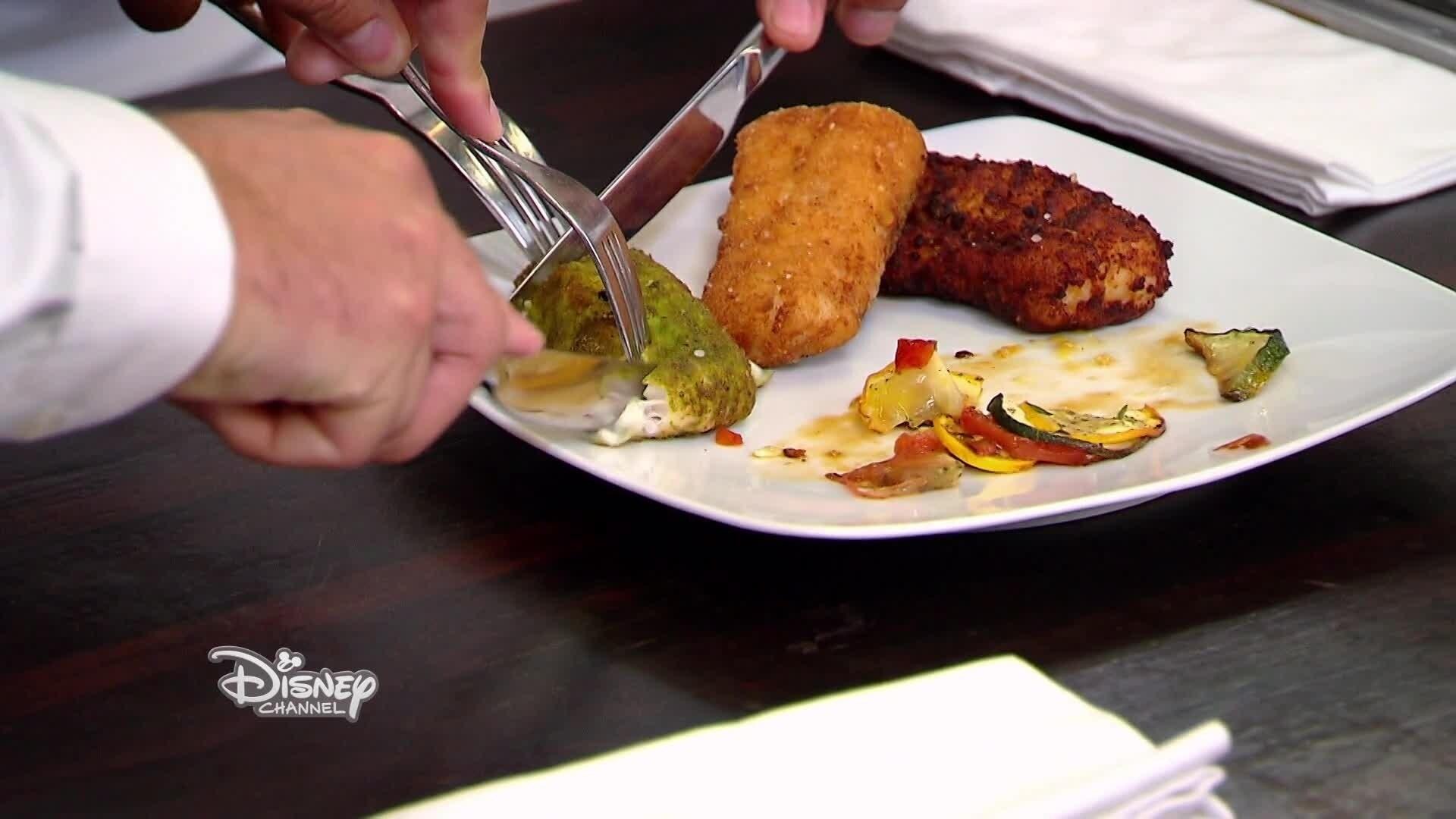 Poisson panné et son tian de légumes d'Ali et Yanis - Chez Rémy Tout Le Monde Peut Cuisiner - Partie 4
