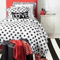 Minnie Mouse Grand Dotty Sham by Ethan Allen