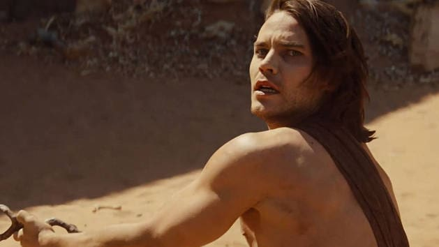 Un simio blanco - John Carter