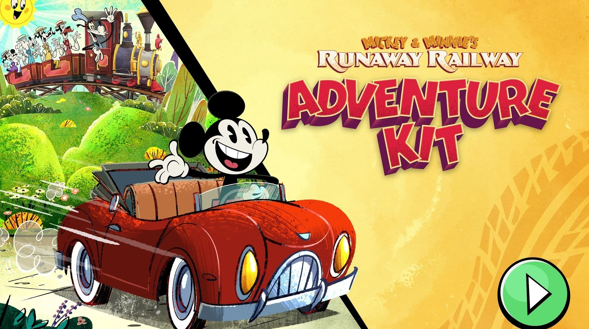 Experience Walt Disney World Magic at Home with Mickey & Minnie's Runaway Railway: Adventure Kit